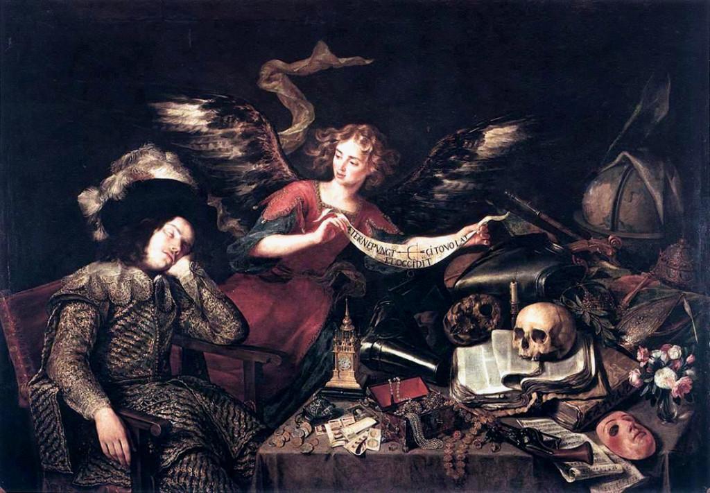 Antonio de Pereda - Il sogno del nobiluomo